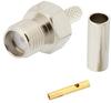 SMA Female (Jack) Connector for RG174, RG316, RG188, LMR-100 Cable, Crimp/Solder -- FMCN1541 -Image
