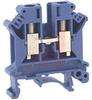 UK 6 N Blue IEC Screw Clamp Terminal Block - 26-8 AWG -- 70169375