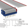 Rectangular Cable Assemblies -- C4RXG-1406G-ND -Image