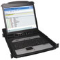 NetDirector 16-Port 1U Rack-Mount Console IP KVM Switch w/19 in. LCD -- B020-U16-19-IP