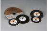 Standard Abrasives Ceramic Cutoff Wheel - 4 in Diameter - 3/8 in Center Hole - Thickness 1/16 in - 01826 -- 051122-01826