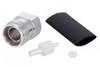 4.3-10 Female (Jack) Low PIM Connector for SPP-250-LLPL, SPO-250, SPF-250 Cable, Solder