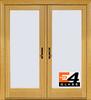 400 Series Frenchwood® 2-Panel Hinged Patio