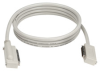 Micro D 68 Male to Micro D 50 Male Cable, SCSI-3 to SCSI-2, 90° Hoods, Custom Lengths -- EVMS23