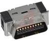 .050 Mini D Ribbon (MDR) 20 Pos. IDC Wiremount Plug-Shielded -- 70114229 - Image
