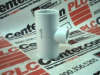FITTING TEE REDUCING 1X1X1/2IN SCH40 PVC WHITE -- 402130