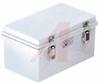 Enclosure; ABS/PC Blended Plastic; Polyurethane Gasket; Light Gray; NEMA1,2,4,4X -- 70148550