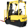 Electric Forklift Trucks, 3 Wheel