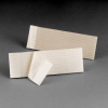 3M™ Bi-Directional Filament Tape Sheets 819 Clear, 2 in x 6 in, 25 sheets per pad 200 pads per case Bulk -- 819