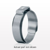 Oetiker® 1-Ear Clamp with Mechanical Interlock, 100/Bag