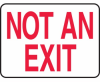 Not An Exit Sign -- SGN517 -Image