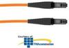 Panduit® NetKey MT-RJ to MT-RJ, OM1, Riser, Duplex.. -- NKF6FR02F-FM