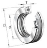 51300 Series Medium Duty Ball Thrust Ball Bearings -- 51340