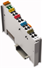 4-channel digital input module; 24 VDC; 3.0 ms; high-side switching; 2- to 3-conductor connection -- 750-402 - Image