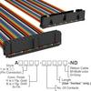 Rectangular Cable Assemblies -- A3CKB-3418M-ND -Image