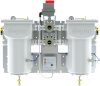 Automatic Duplex Fuel Water Separator - 2060 GPH