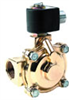 Parker Two-way Solenoid Valve, 3/4 in NPT(F), 110/120 VAC, Steam and Hot Water -- EW-98168-37 - Image