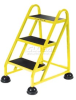 Aluminum Rolling Ladders -- T9H416202YL