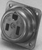 Amphenol 7-8648 Circular MIL Spec Connector RECEPTACLE -- 7-8648