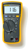Fluke HVAC Multimeter with Temperature and Microamps -- 116