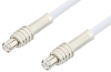 MCX Plug to MCX Plug Cable 24 Inch Length Using RG188 Coax, RoHS -- PE3290LF-24 -Image