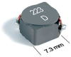 MSS7341 Series Shielded Mount Power Inductors -- MSS7341-474 -Image