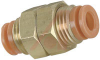 BULKHEAD UNION, PNEUMATIC, 1/8IN. OD TUBE -- 70070400