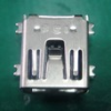 Cable Assemblies and IO cable connectors, IO cable connectors, USB Series, Mini USB Receptacle, Mounting style=Surface Mount Type -- 10033527-N3212LF - Image