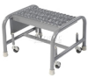 Heavy Duty Steel Rolling Ladder -- T9H861011GS