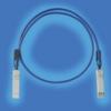 Cable Assemblies and IO cable connectors, IO cable connectors, SFF High Speed IO Connectors and Cages, SFP Plus High Speed IO Connectors, SFP Plus IO Cable assembly, Conductor Size=24 AWG -- 10101497-5005HFLF - Image