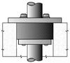 Conduit in Rigid/EMT Conduit Sealing Bushing -- CSML-200P