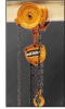 CB Chain Hoist with GT Geared Trolley -- CB005 & GTF2010 - Image