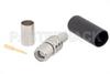 SMA Male Connector Crimp/Solder Attachment for LMR-240, PE-C240, LMR-240-UF -- TC-240-SM-SS-X -Image