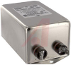 Dual Stage RFI Power Line Filter; 20AMP, .250 Terminals; RoHS Compliant -- 70185573