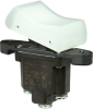 TP Series Rocker Switch, 1 pole, 2 position, Screw terminal, Above Panel Mounting -- 1TP216-3 -Image