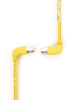10FT Yellow CAT6 250MHz Angle Patch Cable S/FTP CM Down-Up -- EVNSL214S-0010-90DU - Image