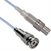 TRB 3-SLOT FULL CRIMP PLUG TO TRB 3-LUG FULL CRIMP CABLE JACK M17/176-00002 .129 O.D. CABLE -- MP-2236-60 -Image