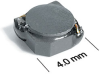 MSS4020 Series Shielded Surface Mount Power Inductors -- MSS4020-153 -- View Larger Image