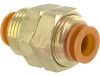 BULKHEAD UNION, PNEUMATIC, 3/8IN. OD TUBE -- 70070404