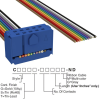 Rectangular Cable Assemblies -- C1CXS-1036M-ND -- View Larger Image