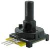 510 Series mechanical encoder, 2-bit: 6 cycles per revolution, 24 detents per rev., PC type C-30 terminals -- 510E1A48F206PC