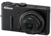 Nikon CoolPix P310 Black 16.1mp 4.2x (24-100mm) Optical Zoom Digital Camera - 3in LCD Monitor - ISO 3200 -- 26320