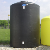 Black Vertical Polyethylene Tanks -- 10894