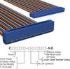 Rectangular Cable Assemblies -- C3PES-5018M-ND -Image