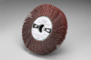 3M Cubitron 741A Coated Ceramic Flap Wheel - 50 Grit - 1 in Face Width - 6 in Diameter - 1 in Center Hole - 82770 -- 051144-82770 - Image
