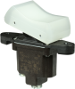 TP Series Rocker Switch, 1 pole, 2 position, Screw terminal, Above Panel Mounting -- 1TP216-2 - Image