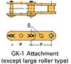 Double Pitch Conveyor Lambda Chain Attachment -- C2040-LAMBDA-GK-1 - Image