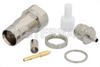 75 Ohm 1.6/5.6 Jack Bulkhead Connector Crimp/Solder Attachment For RG179, RG187, .362 inch DD Hole -- PE44266 - Image
