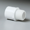 Pipe thread adapter, PVC, 2 1/2