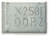 Surface Mount Resettable PTCs -- SMD250F-2 -Image